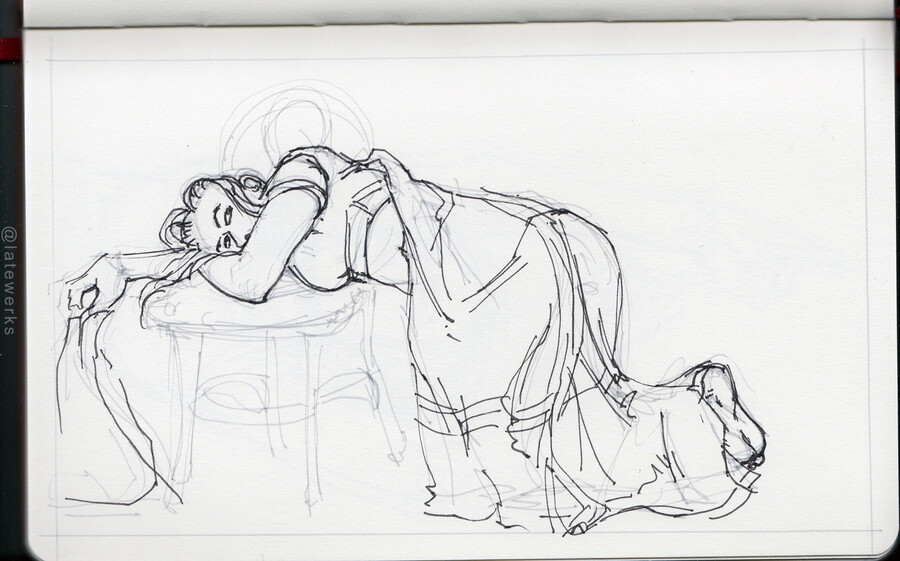 Drink & Draw, location unknown, 03/11/25