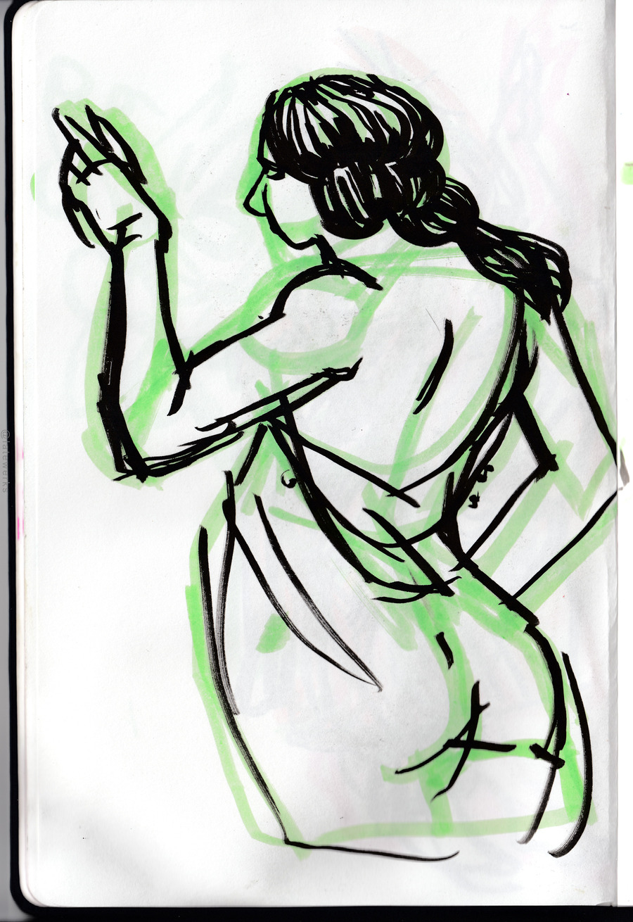 Life Drawing, House Gallery